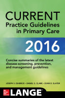 Current Practice Guidelines In Primary Care 2016 Book PDF