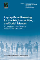 Inquiry Based Learning for the Arts  Humanities and Social Sciences