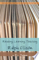 Reading Learning Teaching Ralph Ellison