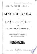 Debates of the Senate Book PDF
