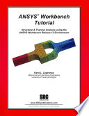 Ansys Workbench Tutorial Release 13 Book PDF