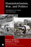 Humanitarianism  War  and Politics
