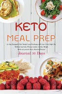Keto Meal Prep Journal 30 Days
