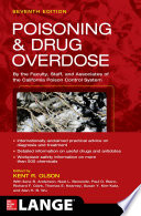 Poisoning and Drug Overdose  Seventh Edition Book