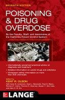 Poisoning and Drug Overdose, Seventh Edition Pdf/ePub eBook