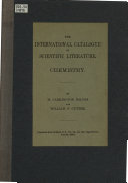 The International Catalogue of Scientific Literature