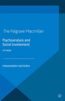 Psychoanalysis and Social Involvement