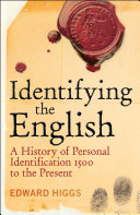 Pdf Identifying the English