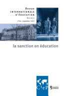 Pdf La sanction en éducation - Revue internationale d'éducation sèvres 81 - Ebook Telecharger