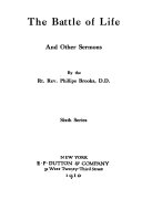 The battle of life  and other sermons
