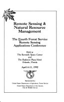 Remote Sensing   Natural Resource Management