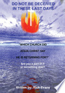 Which Church Did Jesus Christ Say He Is Returning For