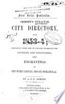 Ormsby s Syracuse City Directory for