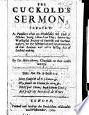 The Cuckold's Sermon
