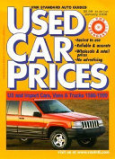 VMR Standard Used Car Prices  1985 1998