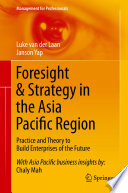Foresight   Strategy in the Asia Pacific Region Book