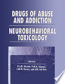 Drugs of Abuse and Addiction Book