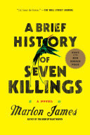 A Brief History of Seven Killings Pdf/ePub eBook