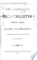 The Australian Bee Bulletin
