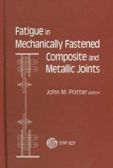 Pdf Fatigue in Mechanically Fastened Composite and Metallic Joints