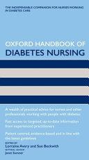Oxford Handbook of Diabetes Nursing