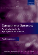 Compositional Semantics