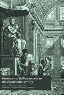 Pdf Glimpses of Italian Society in the Eighteenth Century