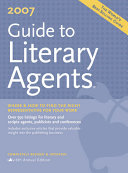 2007 Guide To Literary Agents Book PDF