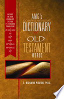 Amg's Comprehensive Dictionary of New Testament Words