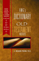 Amg s Comprehensive Dictionary of New Testament Words