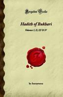 Hadith of Bukhari Book PDF