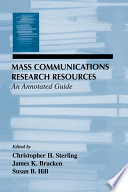 Mass Communications Research Resources