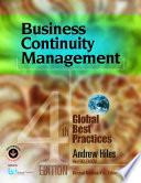 Business Continuity Management Book PDF