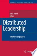 Distributed Leadership Book