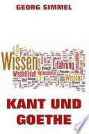 Kant und Goethe