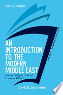 An Introduction to the Modern Middle East  Student Economy Edition Book PDF