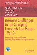 Business Challenges in the Changing Economic Landscape   Vol  2