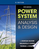 Power System Analysis   Design  SI Version