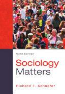 Sociology Matters Book