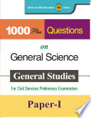 1000 Plus Questions on General Science for GS Paper I