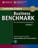 Business Benchmark Pre-intermediate to Intermediate BULATS and Business Preliminary Teacher's Resource Book