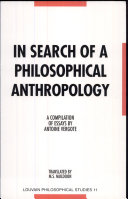 In Search of a Philosophical Anthropology