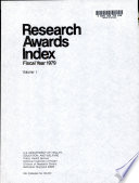 Research Awards Index
