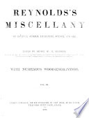 Reynolds s Miscellany of Romance  General Literature  Science  and Art Book