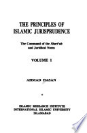 The Principles of Islamic Jurisprudence: Command of the Sharīʻah and juridical norm
