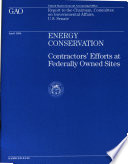Energy Conservation Book