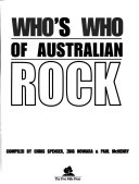 Who S Who Of Australian Rock