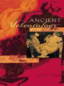 Ancient Meteorology [Pdf/ePub] eBook