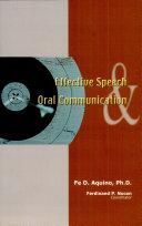 Effective Speech   Oral Comm