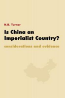 Is China an Imperialist Country? Pdf/ePub eBook